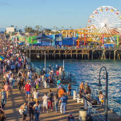 UCLA students profile the Santa Monica Pier's waste management system and investigate ways to improve its current system.