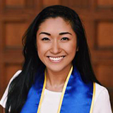 A headshot of UCLA student Chloe Acebo